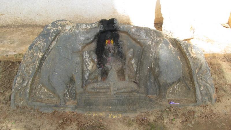 Gajalakshmi Sculpture